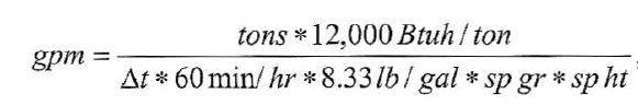 لوله کشی چیلر 7 - محاسبات چیلر آب خنک 1