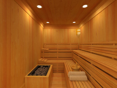 Highgrove Sauna - طراحی استخر 5 (سونا و حوضچه آبسرد)