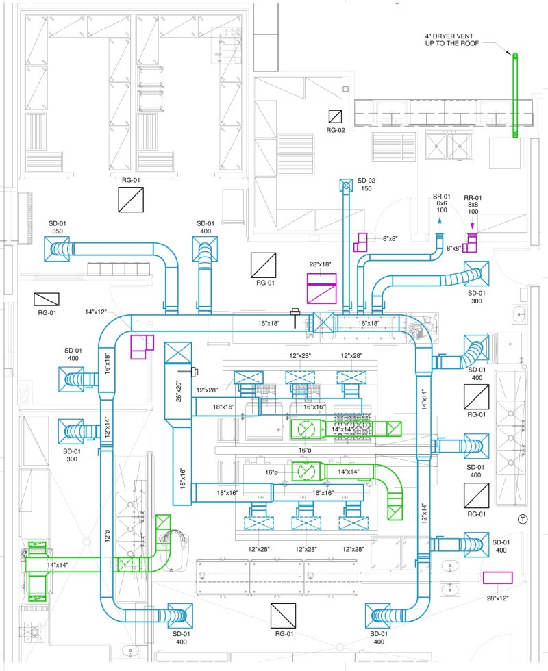 KIT 5 - تاسیسات آشپزخانه صنعتی