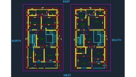 NEW CAD EDF3 472x267 - پلان مسکونی 32 واحدی