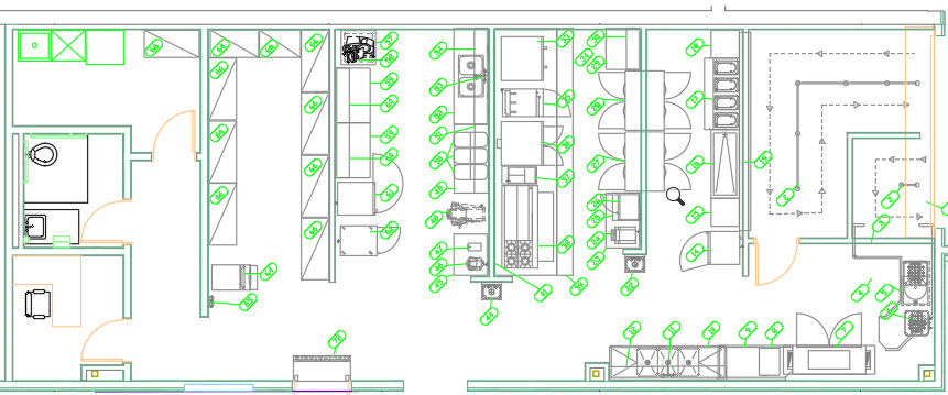 ck3003 - تاسیسات آشپزخانه صنعتی