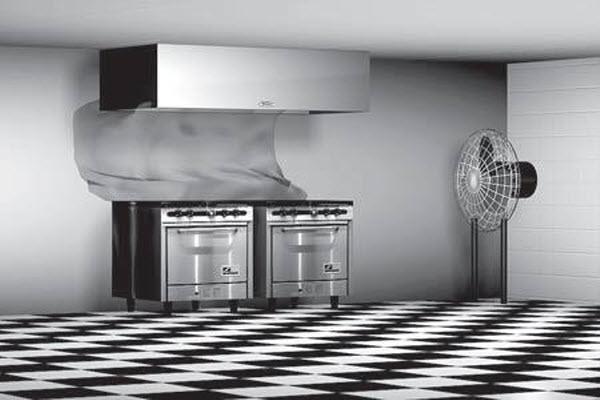 تهویه آشپزخانه صنعتی 3