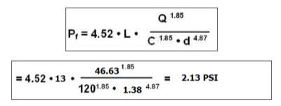محاسبات هیدرولیکی آتش نشانی8